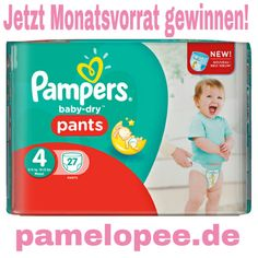 pamelopee: Jetzt bei mir einen Monatsvorrat Pampers gewinnen!...
