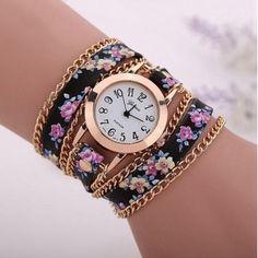 Relógio Pulseira Flor do Amor