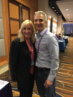 Nancy at ‪#‎AAARTA‬ Mid-Year Conference in Chicago with Scott Brown, Director of Client Experience and Communications at California Cryobank