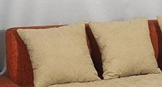 Set of 2 Beige Large Size Bonded or Classic Micro Suede Sofa Cushion Cover/Case Sofa Back Cushions, Sofa Cushion Covers, Back Support Pillow, Support Pillows, Cheap Decorative Pillows, Decorative Pillow Covers, Kids Pillows, Blue Pillows, Throw Pillows
