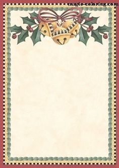 Magic Coloring - Games And Coloring Pages For Kids and Adults. Christmas Border, Christmas Frames, Christmas Background, Christmas Pictures, Christmas Art, Christmas Holidays, Christmas Labels, Free Christmas Printables, Christmas Clipart