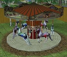 Mod The Sims - Pretty Ride-on Carousel