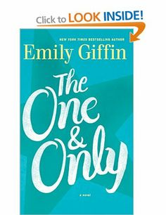 The One and Only - Emily Giffin, finished May 2015. I'm not usually big I love stories, but add in football and I'm all in. I did through the second half of the book. Perfect summer read (even if I read it in spring).