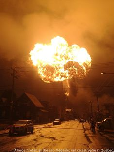 A large fireball at the Lac-Mégantic rail disaster in Quebec, Canada – (July 6, 2013) – stunning #epic fails hilarious , #fails gifs funny , #funny fails nailed it , #lol fails , #texting funny fails    #EpicFailsGifs, #FailsFunny, #NailedItFailsFunny, #PictureFails, #TextingFailsCrush