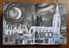 Magical, magical, magical... Mark Hearld's end papers for the Spitalfields Life book