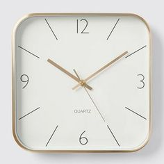 Modern and understated, the Luca wall clock features a clear and easy to read face and a sleek metallic exterior. Use it to make a statement in your lounge and turn a boring wall into a focal point. Wall Clock Target, Australia, Metallic, Exterior, Face, Modern, Lounge, Study, Dining
