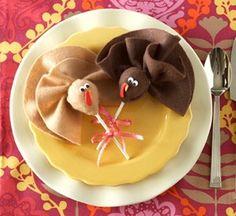 Napkin Holders Thanksgiving Dinner