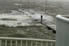 The jetty was awash, Swan River, Westen Australia Submitted by: ABC news 11/06/2012