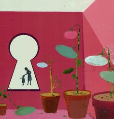 Ilustración de Eva Vázquez para La caja de las palabras, de Mar Benegas.