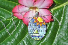 Sail Away by MosaicJewelrybyCrys on Etsy, $40.00