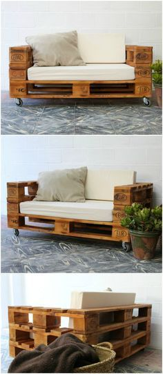 daybed outdoor pallet - google search | home | pinterest | pallet ... - Patio Pallet Piani Mobili