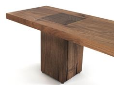 Mesa rectangular de madera BOSS EXECUTIVE Colección Boss Executive by Riva 1920 | diseño Maurizio Riva, Davide Riva