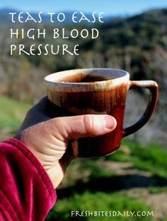 Five teas to improve your blood pressure (that actually taste good) and forest fire pictures as a bonus…