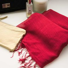 light & lovely. featherweight scarf.