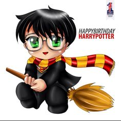 Harry Potters birthday today he is 35 and jk Rowling is now 50 so happy and don't forget Neville is also 35