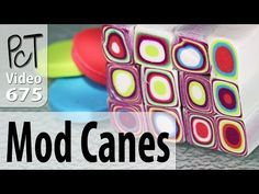 Making A Retro Mod Cane Using Your Polymer Clay Extruder Clay Extruder, Polymer Clay Tools, Polymer Clay Canes, Polymer Clay Necklace, Polymer Clay Projects, Polymer Clay Creations, Clay Crafts, Bead Studio, Clay Tutorials