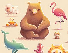 Educational book for little children by Alena Tkach