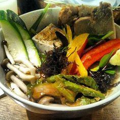 Totto Ramen( Serves Very Delicious Japanese Soup): Vegetable Ramen.