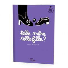 Cahier d'activités Telle mère Telle fille Minus Editions