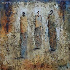 Michel RAUSCHER | Peintures - Huile sur toile - 30x30 cm-2014