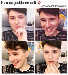 He is pastel he is soft awh Daniel James Howell, Dan Howell, British Youtubers, Best Youtubers, Phan Is Real, Dan And Phill, Phil 3, Danisnotonfire And Amazingphil, Tyler Oakley