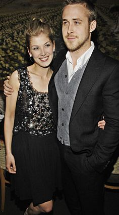 Rosamund Pike withRyan Gosling.....