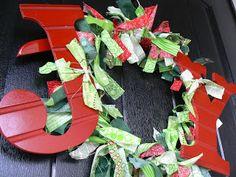 The Creative Homemaker: {JOY} Door Wreath