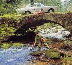 1969 calendar - Opel Commodore