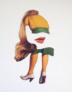Art. collage. For Example: Nicola Kloosterman