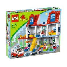 LEGO Duplo 5795 - Großes Stadtkrankenhaus: Amazon.de: Spielzeug