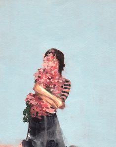 Flowers growing inside of me. 🌺🌸🌼
