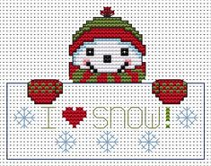 http://www.fatcatcross-stitch.co.uk/pages/I Love Snow.htm