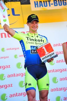 Stage 11: Besançon - Oyonnax 187.5km - Nicolas Roche (Tinkoff-Saxo) was voted most aggressive rider on stage 11 of the Tour de France Photo: © Fotoreporter Sirotti
