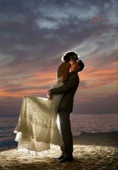 Amor y de testigo el mar