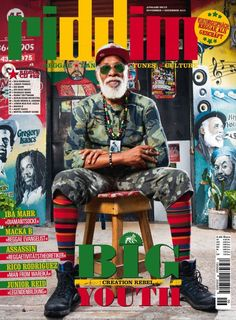 Riddim CD #82 Big Youth (Riddim Magazine) -| http://reggaeworldcrew.net/riddim-cd-82-big-youth-riddim-magazine/