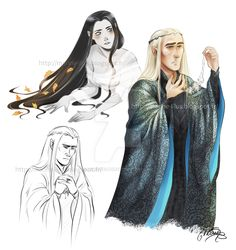 """marinette-edhel: """"… I might have some too high expectations about the scene when Thranduil gets the necklace back in the BofFA extended version. *disappointment is around the corner* :/ (Do you think we will get to see Bilbo named elf friend? Tolkien, Hobbit Art, O Hobbit, Lotr Swords, Elf Drawings, History Of Middle Earth, Lotr Cast, Mirkwood Elves, Legolas And Thranduil"""