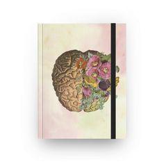 Caderno e agenda Brain de @sarahstehling | Colab55