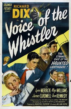 """""""Voice of the Whistler"""" (1945) starring Richard Dix on Antenna TV -- 7/30/2012 (Mon) at 7a ET & 8/4/2012 (Sat) at 5a ET."""