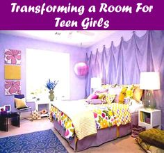Teen girl bedrooms, pop to this post for one truly easy teen girl room design, info number 9696138612 Small Girls Bedrooms, Purple Bedrooms, Teen Girl Rooms, Teenage Girl Bedrooms, Teenage Room, Small Rooms, Room Girls, Plum Bedroom, Modern Bedrooms