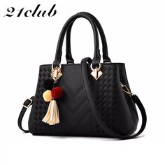 b0a6a0d39f 21club brand ladies 2018 new large capacity totes thread tassel high  quality flap work purse women crossbody shoulder handbags Review