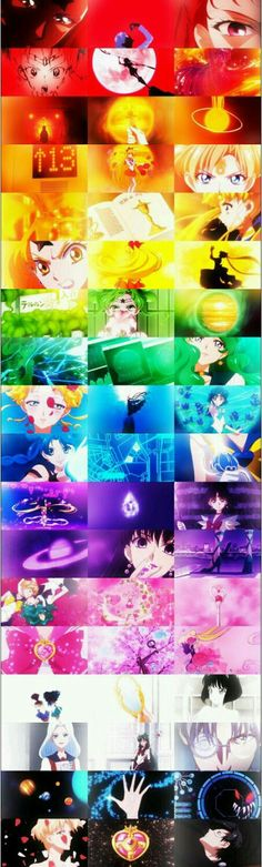 Sailor Moon Crystal season ||| Collage
