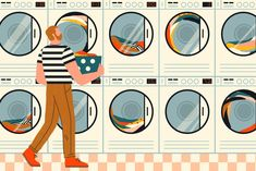 "Jolie Kerr, ""How to Do Laundry,"" The New York Times (6 April 2018). Your dirty clothes seem to multiply in the hamper.  Learn how to tame the laundry beast (and stop using your 'laundry chair') with this guide. Figure out sorting your permanent press from your delicates and which clothes really need extra attention."