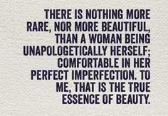 I'm working on this. Authenticity is one thing.. being comfortable in that skin completely is something else.