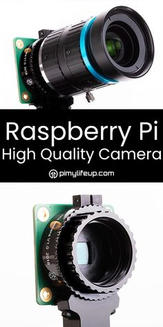 The Raspberry Pi High Quality is the latest camera developed by the Raspberry Pi foundation. This module has several improvements such as larger resolution. Robotics Projects, Computer Projects, Arduino Projects, Electronics Projects, Diy Projects, Raspberry Pi Computer, Raspberry Pi Camera, High Tech Gadgets, New Gadgets