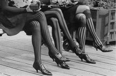 Flapper Fashion…Patterned Stockings c.1920s