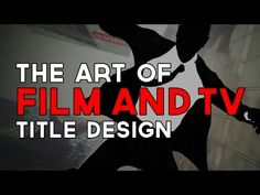 "The latest episode of OFF BOOK is downright title-ating! ""The Art of Film & TV Title Design"""