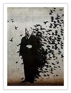 Banksy Hitchcock The Birds Graffiti Poster Unframed Banksy Graffiti, Bird Poster, Decorative Signs, Wall Signs, Canvas Art Prints, Stencils, Poster Prints, Posters, Street Art