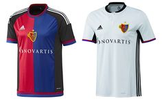 Camisas do Basel 2016-2017 Adidas