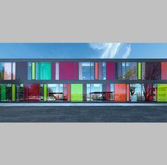 Escuela Saint-Exupéry by Flint y Árgola (Alcobendas, Madrid) #architecture