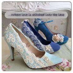 Custom designed shoes by laceandlove.co.uk